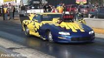 KEN CRUZ, FASTEST PROMOD EVER AT BRADENTON DRAGSTRIP.