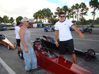 Ben Blevins & Jacson of lay racing always there for Mendola's Motorsports.