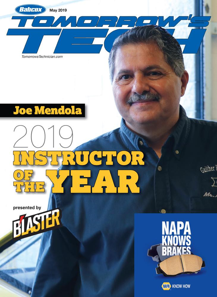 Blaster Corporation, Mendola Motorsports, Joe Mendola, Tomorrow's Technician Magizine